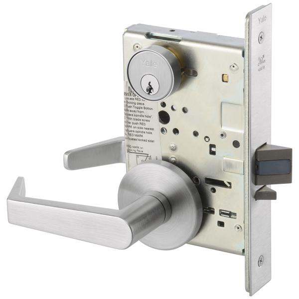 Yale 8808fl Mortise Lockset W Rose Trim Classroom Lock