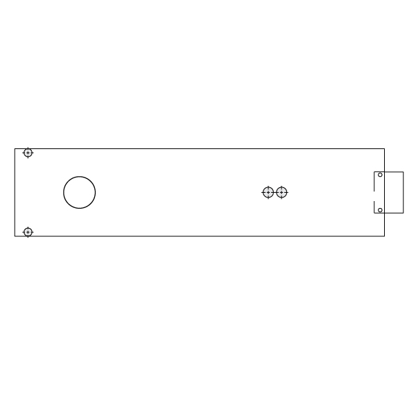 Dorma 8563 Cover Plate For Aluminum Door Frames Epivots Com