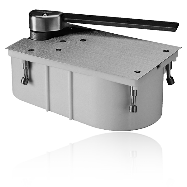 """rixson 27 3/4"""" offset concealed floor closer - epivots"""