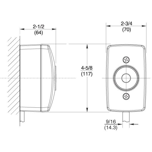 Rixson 996 Electromagnetic Door Holders Epivots Com
