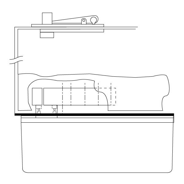 rixson h40 heavy-duty center hung floor closer package - epivots