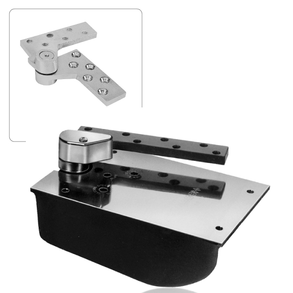 rixson l27 offset concealed floor closer package - epivots