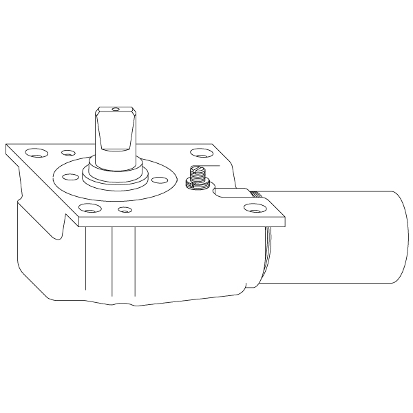 Rixson 16 Duo Chek Floor Closer Body Lap Epivots
