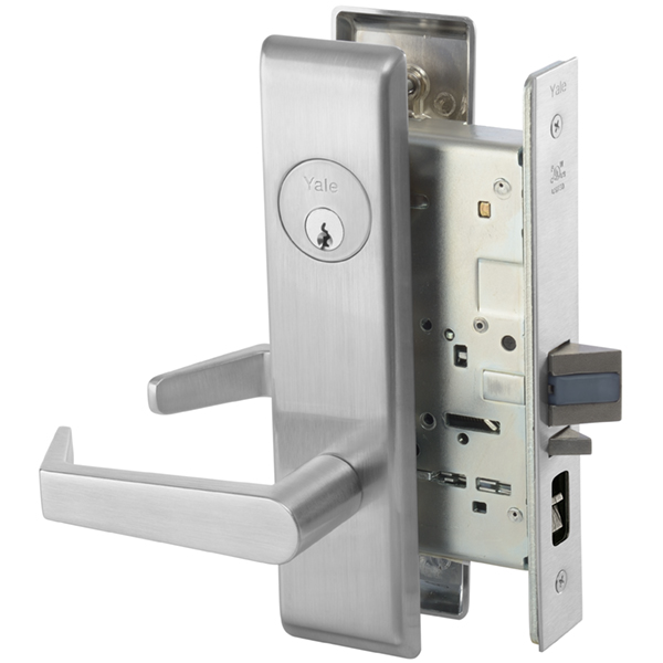 Yale 8808fl Mortise Lever Lockset W Escutcheon Classroom