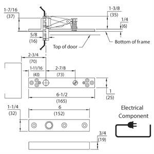 Dorma E8062 4 Wire Center Hung Top Pivots Epivots Com