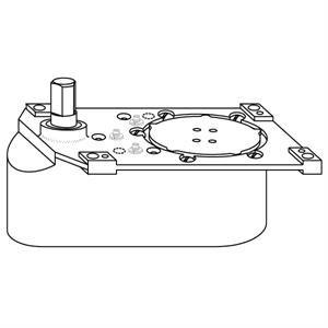 Rixson L27 Heavy Duty Offset Floor Closer Replacement Body
