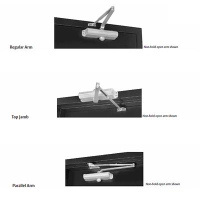 1601h Hold Open Surface Mounted Door Closers By Norton