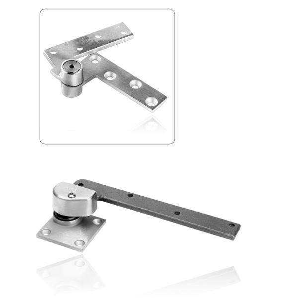 Regular Interior//Exterior Aluminum Finish Rixson 147 626 RH 147 x RH x 626 Offset Pivot