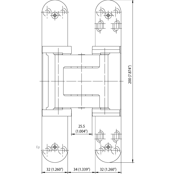 Simonswerk Tectus Te 540 3d A8 Concealed Hinge Epivots Com