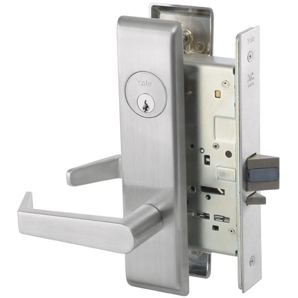 Yale 8805fl Mortise Lockset W Escutcheon Storeroom F07