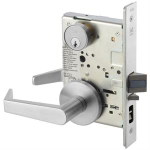 8807FL Mortise Lever Lockset - Entry