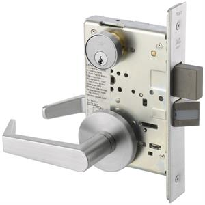 8822FL Mortise Lever Lockset w/Rose Trim - Dormitory