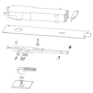 Rts88 01 Concealed Overhead Closer By Dorma Epivots Com